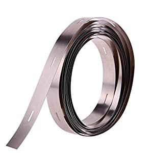 Alloet 2M 0.210MM Ni Plate Nickel Strip Tape For Li 32650 Battery Spot Welding