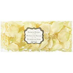 Lillian Rose Silk Flower Rose Petals Ivory 11
