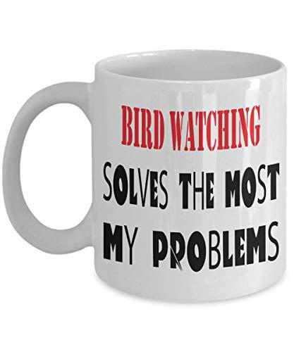 11oz White Mug Bird watching mug pun mug funny coffee mug gift mug Bird watchingman hobby mug best for special,al8115