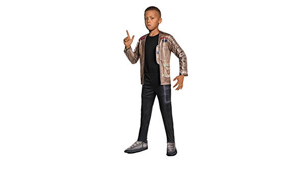 The Force Awakens Finn Costume for Boys Costumes USA Star Wars 7 Includes a Jumpsuit and Attached Jacket