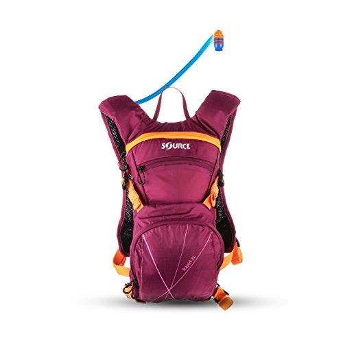 Hydration Camelback Systems (Source Outdoor Rapid 2L Hydration System w/ 2L Cargo Pack, Purple)