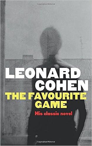 The Favourite Game por Leonard Cohen epub