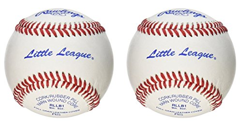 Rawlings Sport Goods RLLB1 Official Little League Baseball - Quantity 2 (Rllb1 League Little Baseball Rawlings)