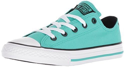 Converse Girls' Chuck Taylor All Star 2018 Seasonal Low Top Sneaker, Pastel Green, 3 M US - Urban Pastel