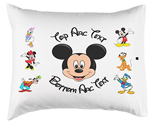 Personalized Toddler Mickey Mouse Pillow Or Pillowcase - 14