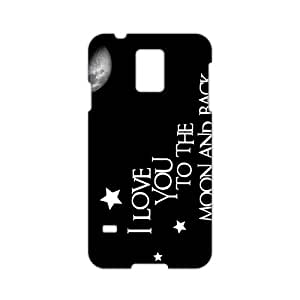 I Love you to the Moon and Back 3D Phone Case for Samsung Galaxy S5