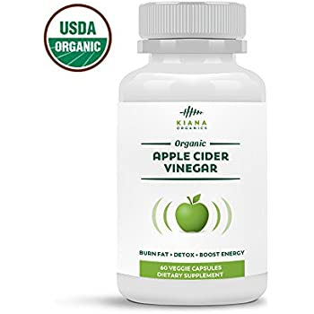 Amazon.com: Organic Apple Cider Vinegar Capsules - Pure