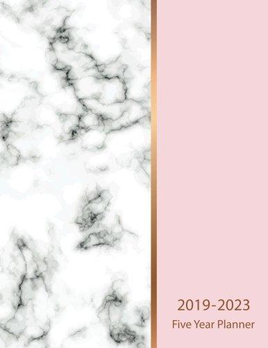 (2019-2023 Five Year Planner: Marble Texture Design 60 Months Calendar Schedule Organizer Agenda Yearly Goals Monthly Task Checklist Logbook ... (Five Year Calendar Planner) (Volume)