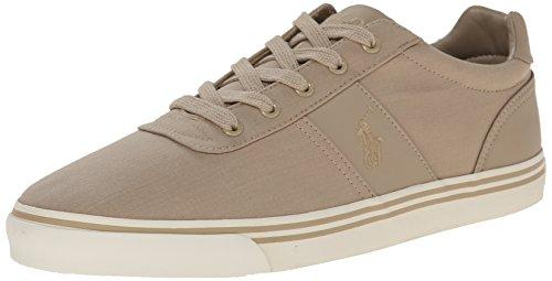 Polo Ralph Lauren Men's Hanford Fashion Sneaker, Khaki, 12 D US -