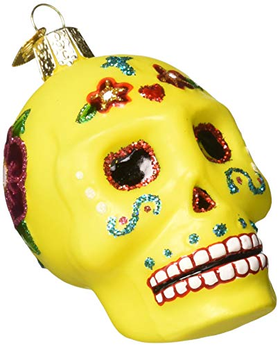 Old World Christmas Glass Blown Ornament, Sugar Skull (26079)]()