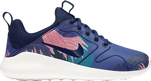Nike Womens Kaishi 2.0 Prt Shoes Us Blue / Lava Glow