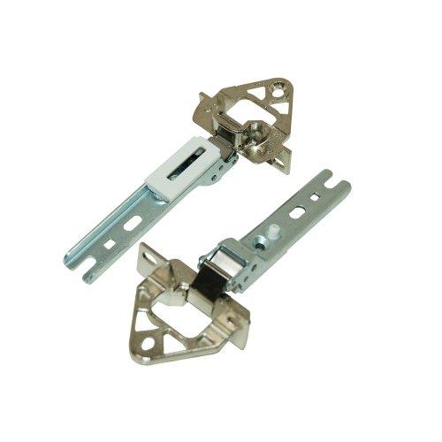 Bosch 268698 Kühlschrankzubehör / Türen / Türscharniere 2 Stück Bosch Siemens Neff Constructa / original für integrierbare Kühlschränke