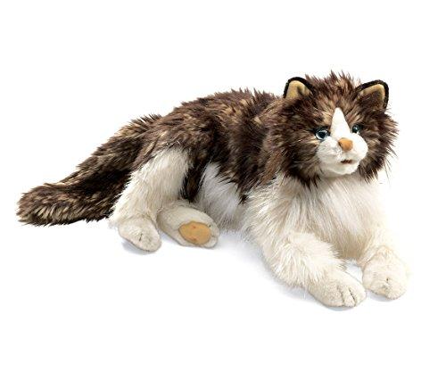 Mozlly Multipack - Folkmanis Ragdoll Cat Hand Puppet - 28 x