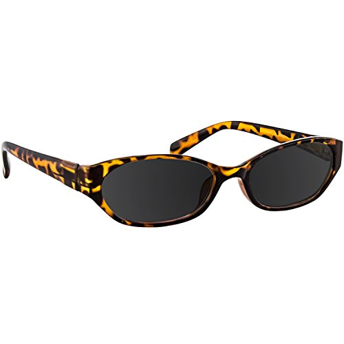 Reading Sunglasses Tortoise Always Have a Stylish Look & Crystal Clear Vision When You Need It! Comfort Spring Arms & Dura-Tight Screws 100% Guarantee ()