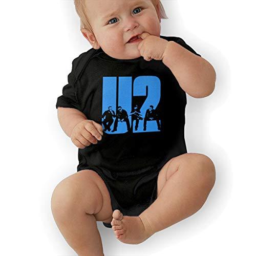 LuckyTagy U2 Logo Unisex Cool Boys & Girls Romper Baby BoyVest 43 -