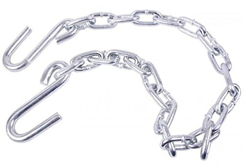 Uriah Products UT200196 3/16'' x 36'' Safety Chain (S-Hooks Both Ends) by Uriah Products