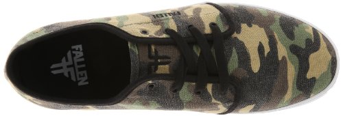 Fallen DAZE 41070064 - Zapatillas de skate de lona para hombre Multicolor