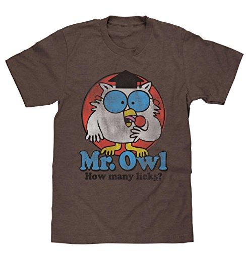 Mr. Owl How Many Licks Licensed T-Shirt
