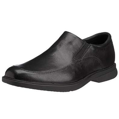 Rockport Men's Business Slip On Lightweight Aderner Shoes, Black, 7.5 US