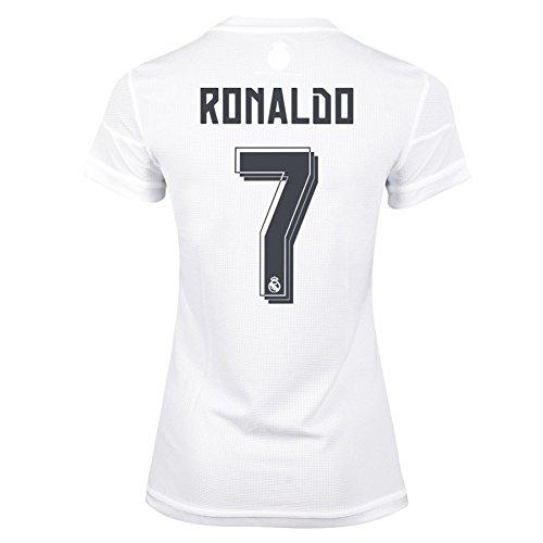 Adidas Ronaldo #7 Real Madrid Women's Soccer Home Jersey (M)