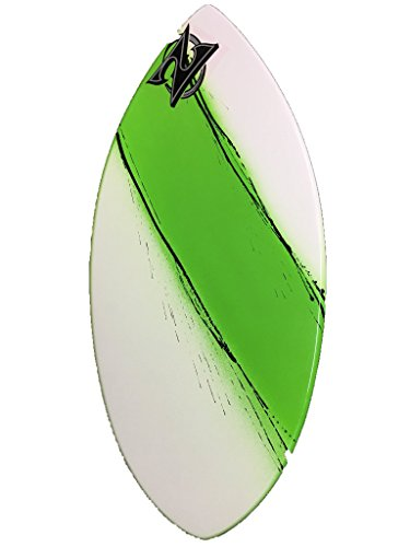 Zap Skimboards Medium Wedge (Choose Color) (White / Green / Black Streaks) by Zap