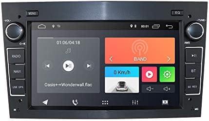 Hizpo Android 9.0 Radio de Coche con navegación GPS Bluetooth 7 ...