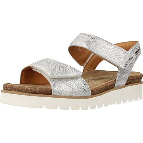 Zapatos plateado formales Mephisto para mujer Njya55Bzg