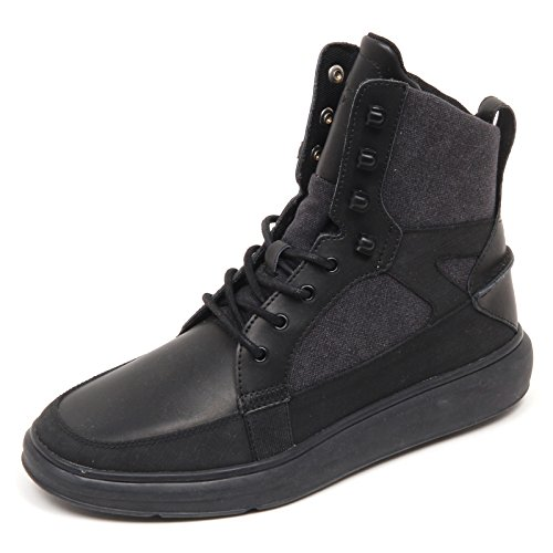 Sneaker without Recreation Nero Man Uomo Box Creative Black Shoe D4910 PEq6vxdwP