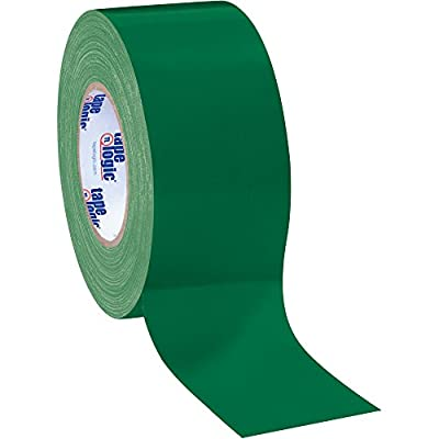 "Boxes Fast Tape Logic Duct Tape, 10 Mil, 3"" x 60 yds, Green by Boxes Fast"