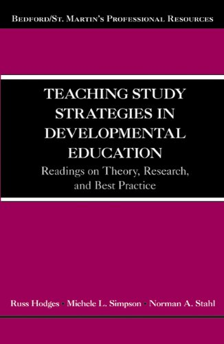 Teaching Study Strategies in Developmental Education: Readings on Theory, Research, and Best Practice (Bedford/St. Marti