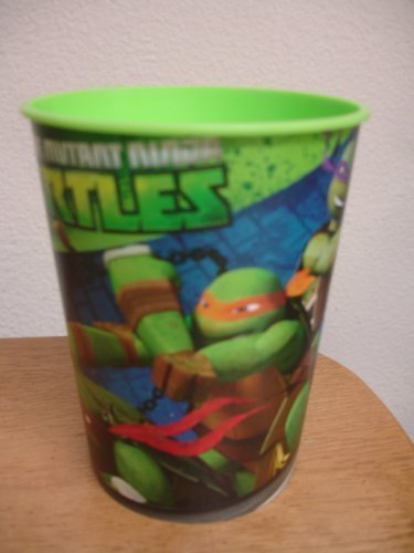Teenage Mutant Ninja Turtles Party Cups, Set of 4 Reusable Plastic Cups for $<!--$10.87-->