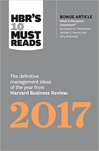 Amazon.com  HBR s 10 Must Reads 2017  The Definitive Management ... 06aaa11351c