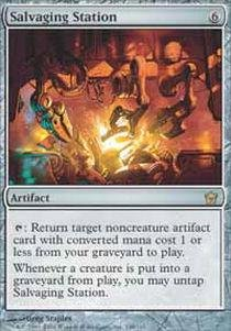 (Magic: the Gathering - Salvaging Station - Fifth Dawn)