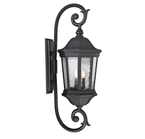 Hampden 3-Light Outdoor Wall Lantern in Black - Savoy House 5-5085-BK