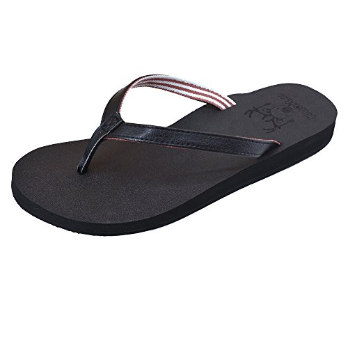 Arch Sandals red Cloth Terry with Support Slip Flip KuaiLu Women's Non … on Thong Flops Slip Foam Black Yoga FwqBSxYO
