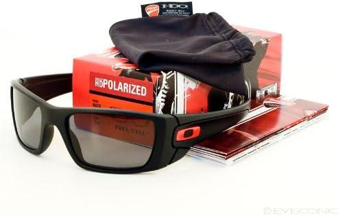 Oakley polarizadas Ducati Fuel Cell Mate BLK w/Polarizadas Gris ...