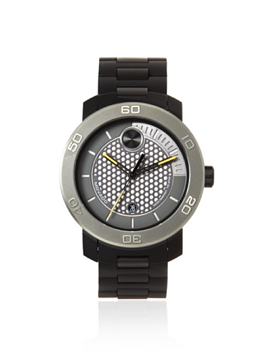 Movado Men's 3600097 Bold Black/Gray Polyurethane Watch