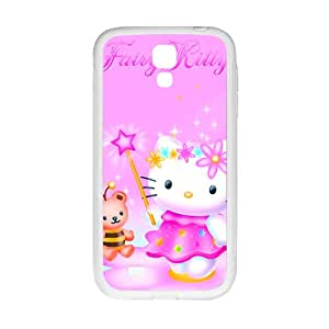 ZXCV Lovely pink Kitty Cell Phone Case for Samsung Galaxy S 4