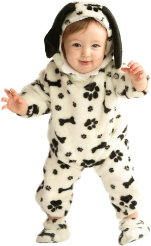Dalmatian Toddler Costume - Black-White - Size 12-18 Months