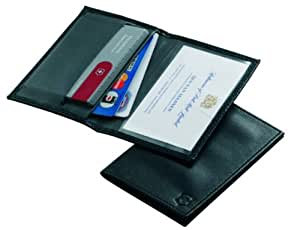 Victorinox Black Leather Pouch for Swiss Card