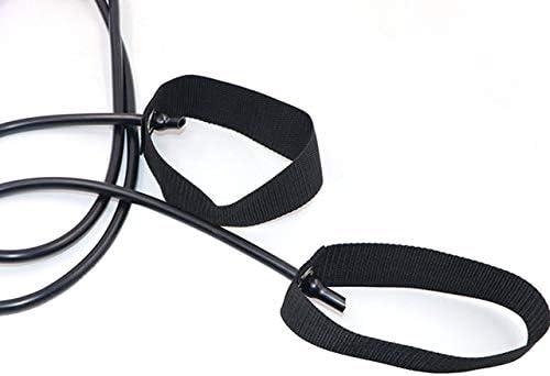 Pilates Fitness Stick Leichter Trainer Pilates Bar Stick mit Widerstandsband für Gym Home Fitness Sport Body Workout lila DEjasnyfall
