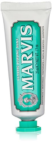 Marvis Classic Strong Mint Toothpaste, Travel Size 1.3 Ounces
