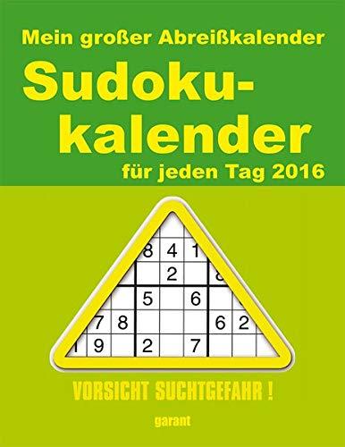 Abreißkalender Sudoku 2016