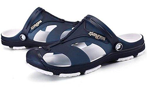 Sandali da EU39 Closed 39 NSLXIE Taglia Toe Casual da uomo Scarpe Infradito 44 antiscivolo spiaggia Summer Pantofole a da 6tqtfZwU