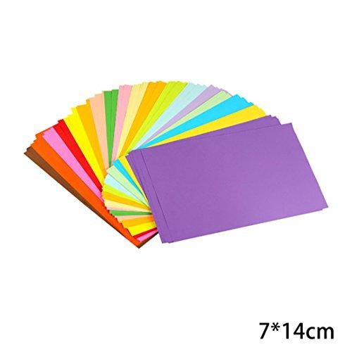 - Izasky Origami Paper 100 Sheets Size 1.97 x 3.94/2.36 x 4.72/2.76 x 5.51 Inch - Diy Handmade Paper Flowers Folding Paper Scrapbooking Decor Pattern Paper Crafts Scrapbooking Craft (7x14cm)