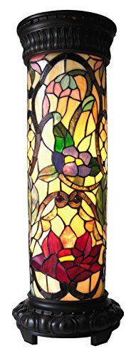 Chloe Lighting CH19040RF30-PL2 Roselle Tiffany-Glass Light Fixture with 30