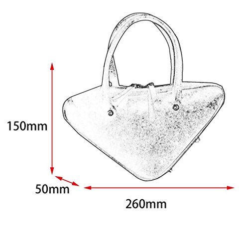 Ladies Bag PU Leather Female Handbag Women Shouder Single Triangular Mini Arichtop Bag Crossbody qwIPX8a