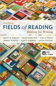Fields of Reading /Motives for Writing