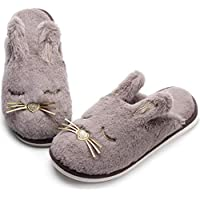 Caramella Bubble Fox Fleece Women's Slippers