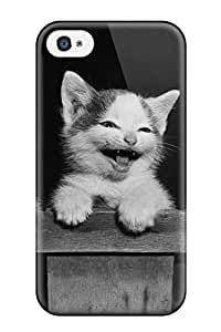 THYde ECRNIec ubydR Case Cover, Fashionable Iphone 4/4s Case - The Three Little Kittens ending
